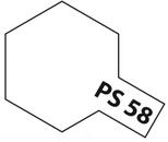 Tamiya PS - 58 Polycarb Spray Pearl Clear
