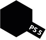 Tamiya PS - 5 Polycar Spray Black