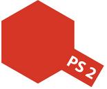 Tamiya PS - 2 Polycarb Spray Red