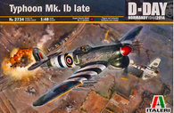 Italeri 2734 1/48 Hawker Typhoon Mk.IB Late