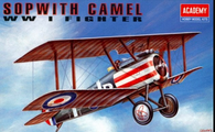 Academy 12447 1/72 Sopwith Camel WWI RAF Fighter