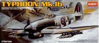Academy 12462 1/72 Hawker Typhoon 1B Aircraft