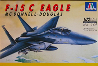 Italeri 169 1/72 McDonnell-Douglas F-15C Eagle