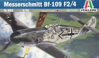 Italeri 053 1/72 BF109 F2/4 Messerschmitt