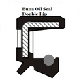Oil Shaft Seal 15 x 25 x 5mm Double Lip  Ref# CR563013
