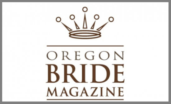 The Oregon Bride features trendy bow ties made from wood.