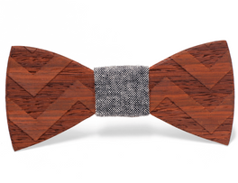 "Unique handcrafted wooden bow ties made by The Two Guys Bowtie Companyâ""¢."