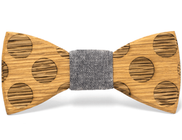 Unique handcrafted wooden bow ties made by The Two Guys Bowtie Company™.