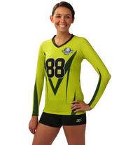 "Mizuno Women's Full Sublimated Jersey (""M"")"