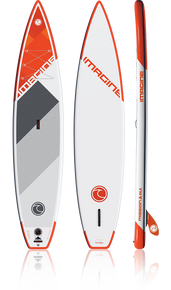 "Imagine Paddle Surf Co Mission DLX 12'6"" Inflatable SUP board"