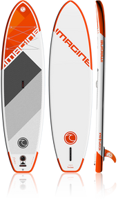 Imagine Paddle Surf Co Icon DLX 11' Inflatable SUP board