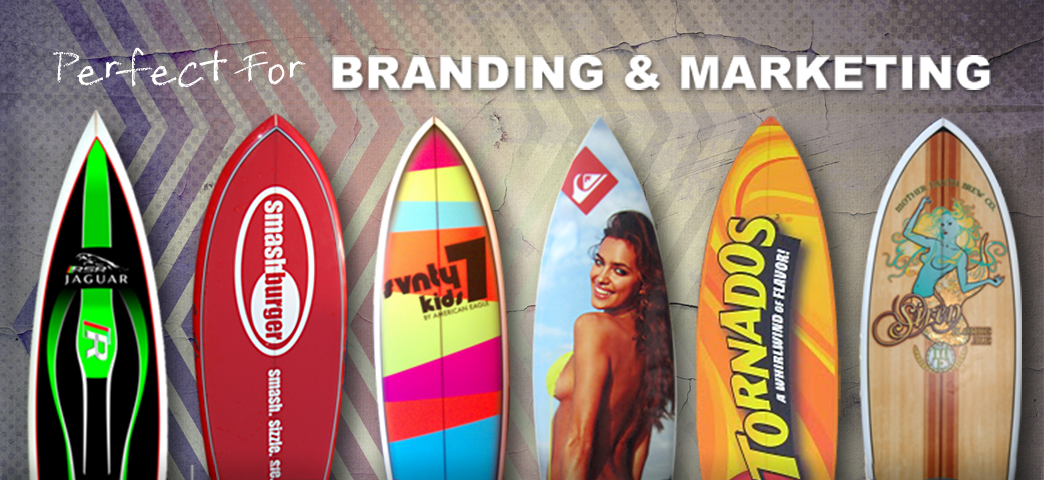 surfboard decor marketing