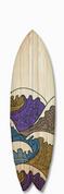 Vintage Wave on Wood