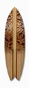 Surfboard graphic batik design