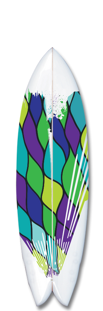 Cobra surfboard design