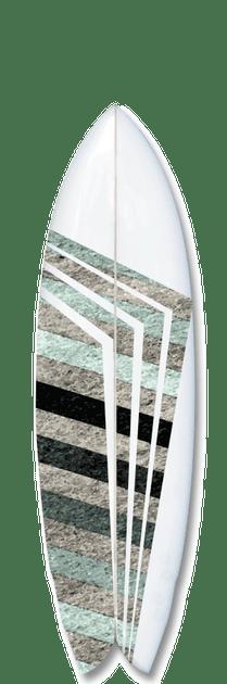 Solider surfboard design.