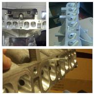 SP63 Port & Polish Intake Manifold Service For Mazda MZR-DISI