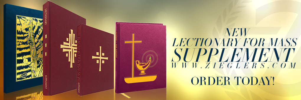 Order the New Lectionary for Mass Supplement Confraternity of Christian Doctrine approved by USCCB Order At Zieglers Catholic Church Supply Store