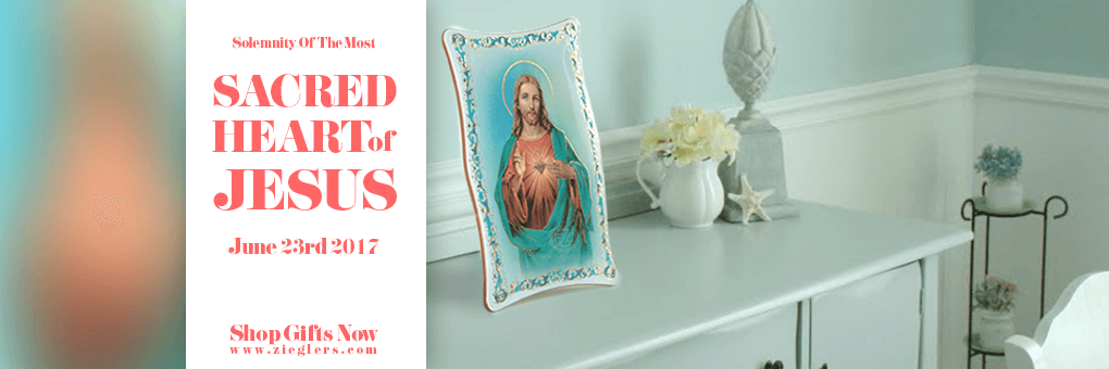 Sacred Heart and Immaculate Heart Rosaries Art Plaques 2017 and more Gifts at Zieglers Catholic Store