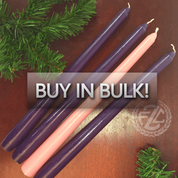 Buy In Bulk Advent Candles DVADV10