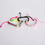 St Benedict Rope Bracelet Kids Size Available in 3 Colors MJWS-KK