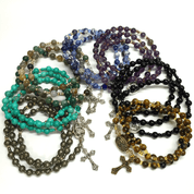 Rosary-Bracelet-Twistable-available-with-precious-stones-lapis-amethyst-agate-tiger-eye-hematite-turquiose