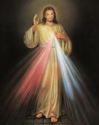 """Divine Mercy Print Only Size 8"""" x 10"""" EGSTELLA36"""