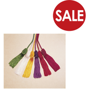 """Clearance - Cincture Rayon Cord with Tassels 144"""" 4 Colors Available TO328CL"""