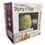 The Easter Egg Story Family Activity For Easter 7 Nesting Wood Eggs and Hardcover Book Box Packaging