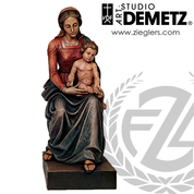 Our Lady With Infant Jesus Statue | Seated | 48"