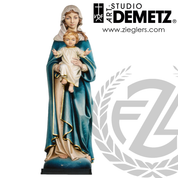 Our Lady with Child Linden Wood or Fiberglass Available in 3 Sizes Style 700-107 Demetz