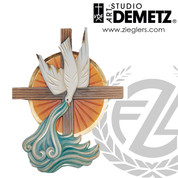 Baptismal Symbol Linden Wood Available in 3 Sizes Style 960-36 Demetz