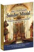 2018 Saint Joseph Sunday Missal and Hymnal 9781941243770 CB201804