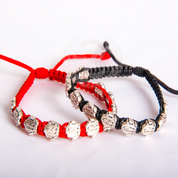 Our Lady of Guadalupe Medal Corded Bracelet Available in 2 Colors MJWG