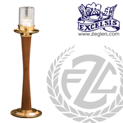 Acolyte Candlestick For 15 Hour Candle Available 2 Finishes Style 166139 Excelsis Made in USA