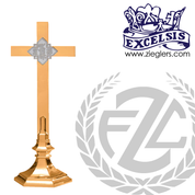 Altar Cross Available in Brass or Bronze Style 245108 Excelsis Made in USA