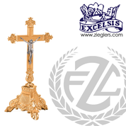 Altar Crucifix Available in Brass or Bronze Style 46625 Excelsis Made in USA