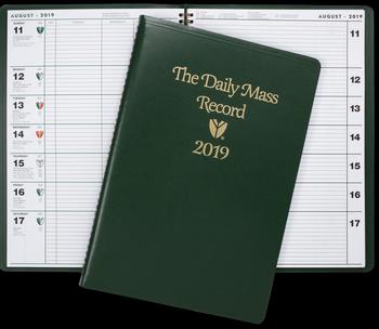 2019 Daily Mass Record Advent thru January 2019 FM2019DMR