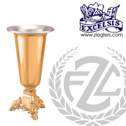 Altar Vase Available in Brass or Bronze Style 46658C Excelsis Made in USA