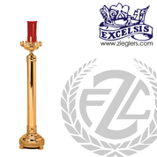 Floor Sanctuary Lamp Brass or Bronze Available in 2 Sizes Style 43349 Excelsis Made in USA