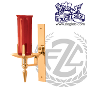 Wall Sanctuary Lamp Brass or Bronze Style 216168 Excelsis Made in USA