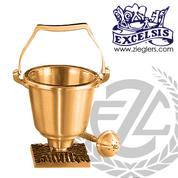 Aspersorium Bronze or Brass Includes Aspergillum 39429 USA