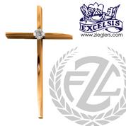 Wall Cross Bronze or Brass High Polish 534143 USA