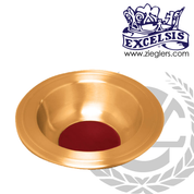 Offering Plate Brass or Bronze High Polished or Satin Finish 1101158 Excelsis USA