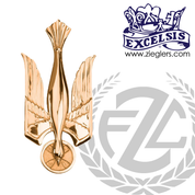 Dove Symbol Bronze High Polished or Satin Excelsis 86796 USA