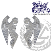 "Praying Angel Wall Plaque | 4"" x 7-3/4"" 