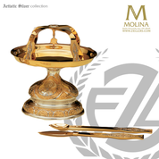 Byzantine Discoss Tassilo Design Eastern Rite Artistic Silver Spain AS145D
