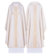 Chasuble 66% Cotton and 32% Polyester Poland Available in 4 colors HF7045
