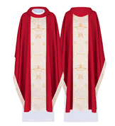 Chasuble 100% Polyester Poland Available in 4 colors HF7054