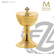 Crown-of-thorns-covered-ciborium-stands-8-inches-high-with-300-host-capacity-with-24-karat-gold-finish-made-in-Spain-by-Molina-AS5201CBGPGL